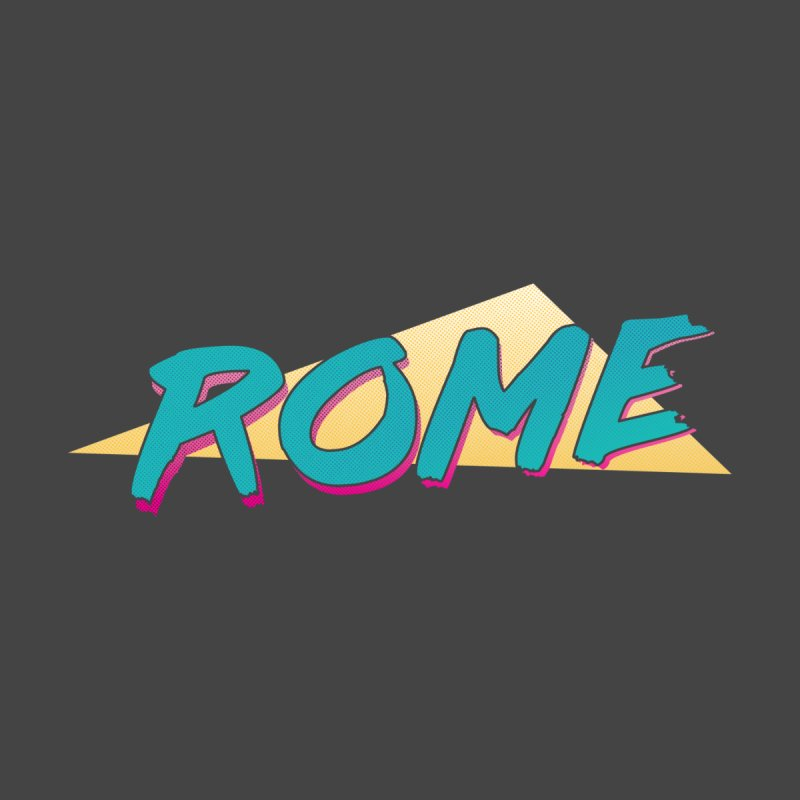 Rome Wasn't 80'd in a Day Men's Longsleeve T-Shirt by Daniel Montgomery's Artist Shop