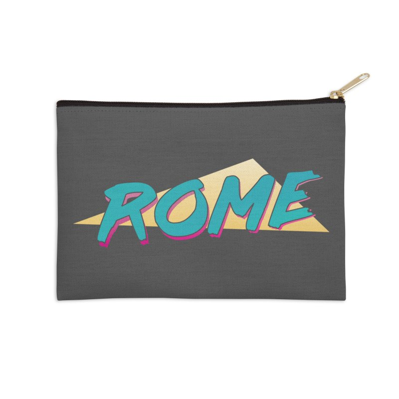 Rome Wasn't 80'd in a Day Accessories Zip Pouch by Daniel Montgomery's Artist Shop