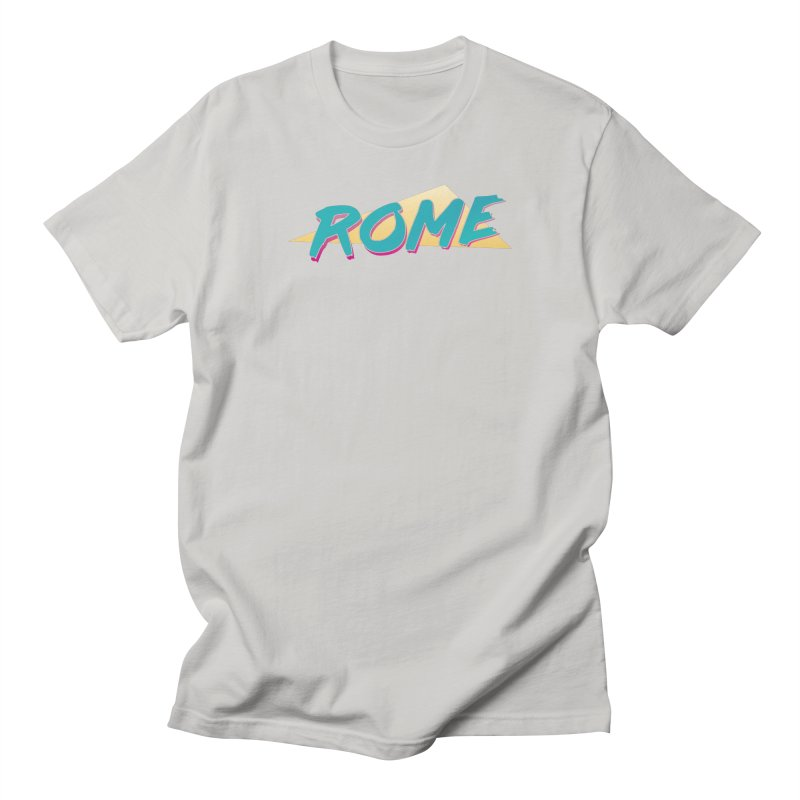 Rome Wasn't 80'd in a Day Men's Regular T-Shirt by Daniel Montgomery's Artist Shop