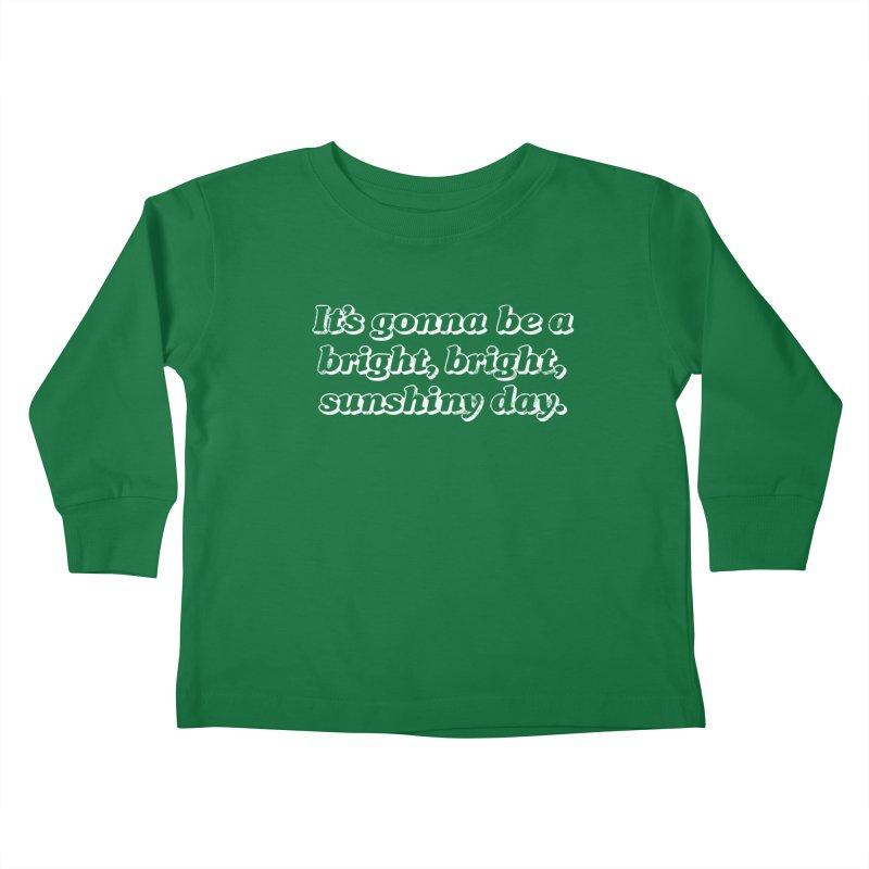 Bright Sunshiny Day Kids Toddler Longsleeve T-Shirt by Daniel Montgomery's Artist Shop