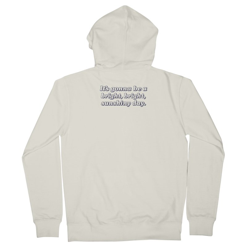 Bright Sunshiny Day on Bright Men's French Terry Zip-Up Hoody by Daniel Montgomery's Artist Shop