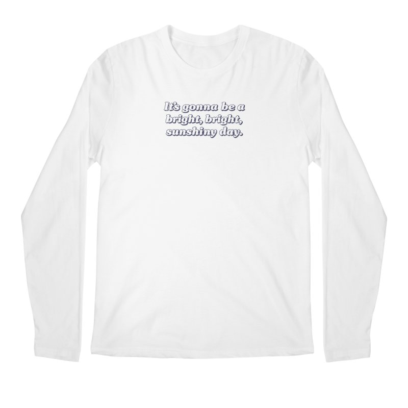 Bright Sunshiny Day on Bright Men's Regular Longsleeve T-Shirt by Daniel Montgomery's Artist Shop