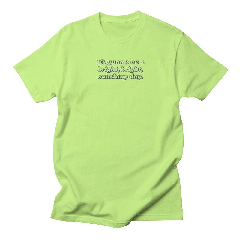 Bright Sunshiny Day on Bright Men's Regular T-Shirt by Daniel Montgomery's Artist Shop