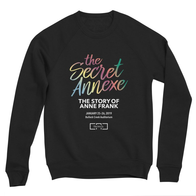 The Secret Annexe Women's Sponge Fleece Sweatshirt by Daniel Montgomery's Artist Shop