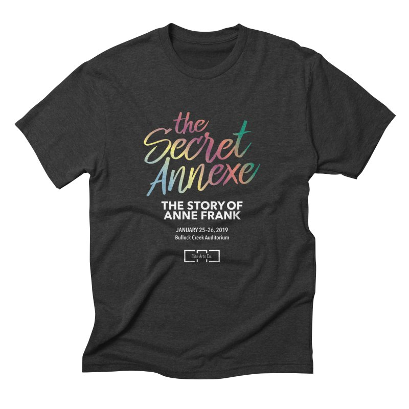 The Secret Annexe Men's Triblend T-Shirt by Daniel Montgomery's Artist Shop