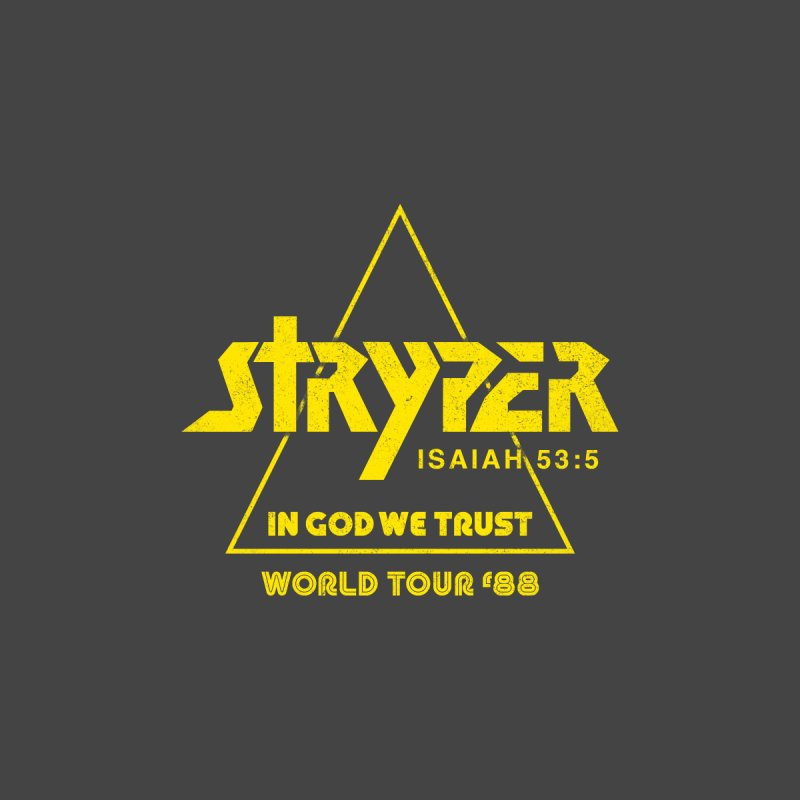 Stryper World Tour '88 Kids T-Shirt by Daniel Montgomery's Artist Shop