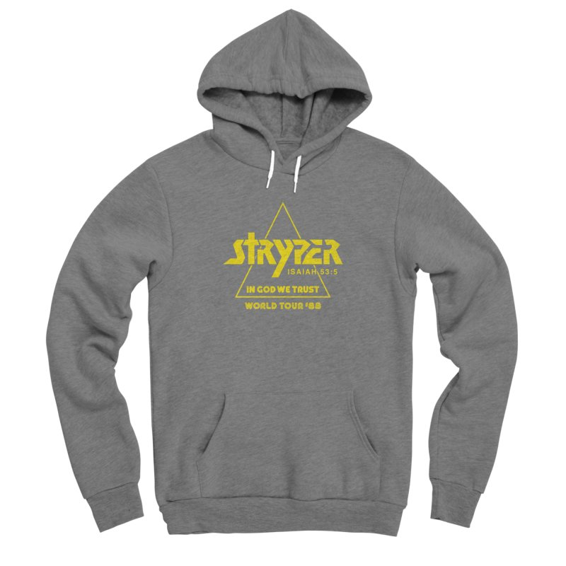 Stryper World Tour '88 Women's Sponge Fleece Pullover Hoody by Daniel Montgomery's Artist Shop
