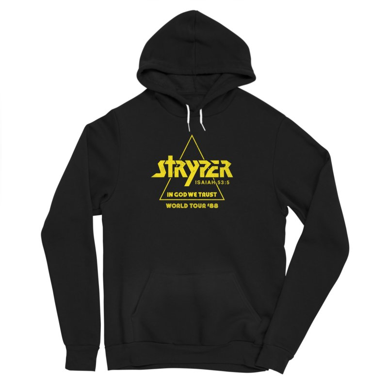 Stryper World Tour '88 Men's Sponge Fleece Pullover Hoody by Daniel Montgomery's Artist Shop