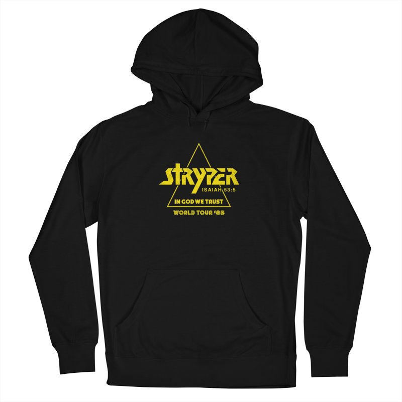 Stryper World Tour '88 Men's French Terry Pullover Hoody by Daniel Montgomery's Artist Shop