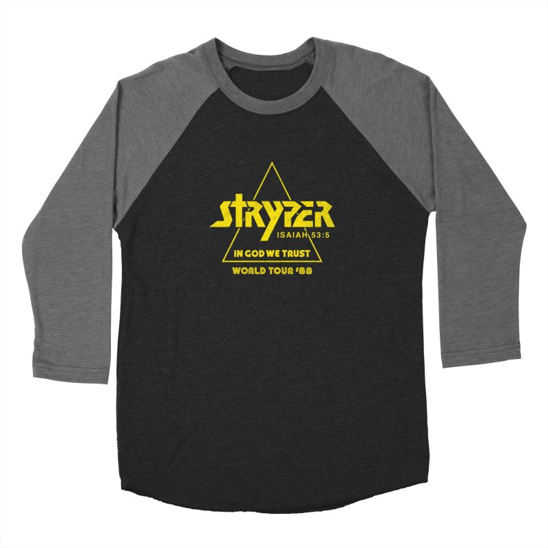 Stryper World Tour '88 Women's Baseball Triblend Longsleeve T-Shirt by Daniel Montgomery's Artist Shop