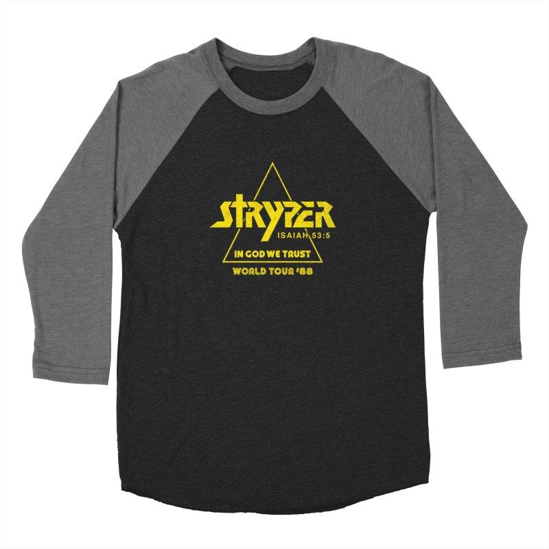 Stryper World Tour '88 Men's Baseball Triblend Longsleeve T-Shirt by Daniel Montgomery's Artist Shop