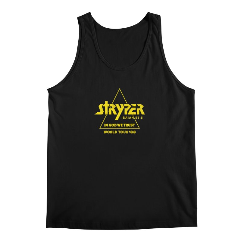 Stryper World Tour '88 Men's Regular Tank by Daniel Montgomery's Artist Shop