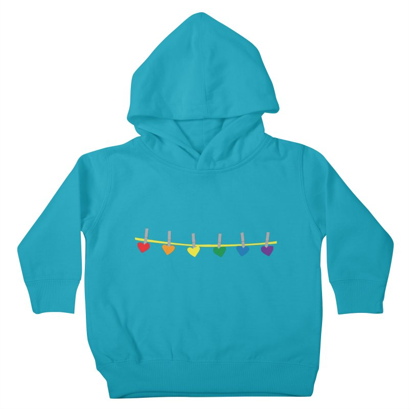 PrideLine Kids Toddler Pullover Hoody by danielmorgan's Artist Shop