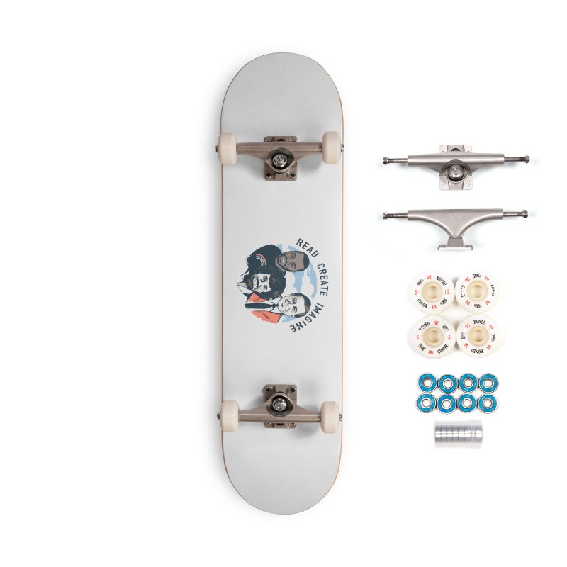 Learning Friends Accessories Complete - Premium Skateboard by Daniel Stevens's Artist Shop