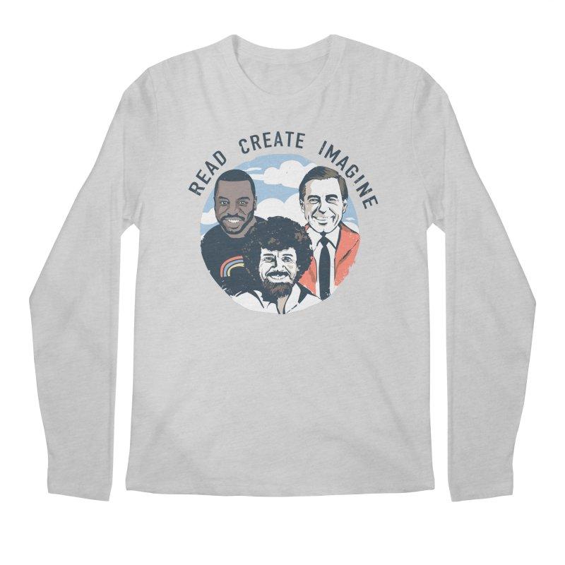 Learning Friends Men's Longsleeve T-Shirt by Daniel Stevens's Artist Shop