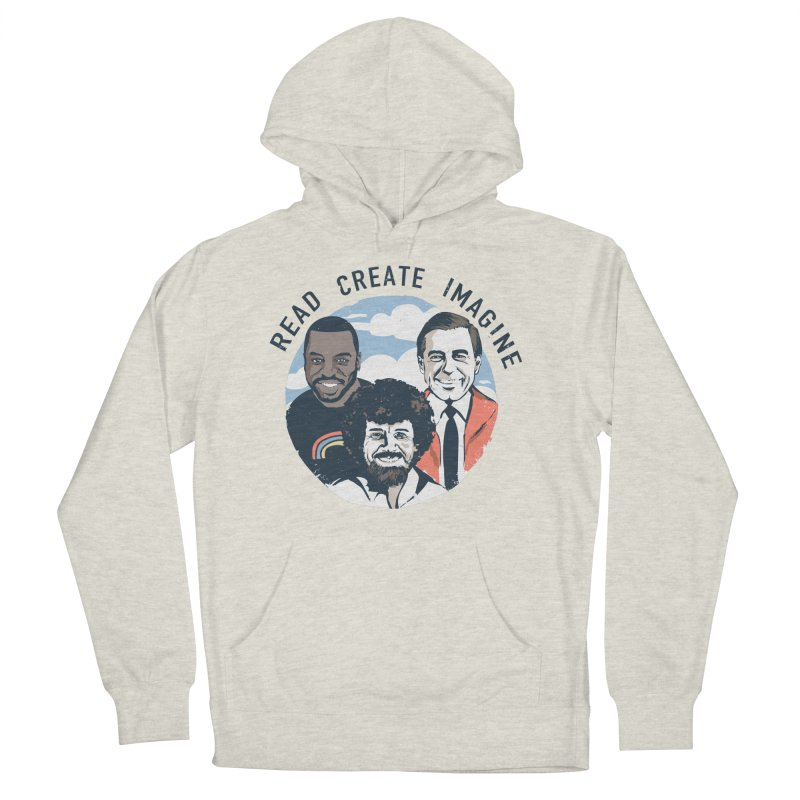Learning Friends Men's French Terry Pullover Hoody by Daniel Stevens's Artist Shop