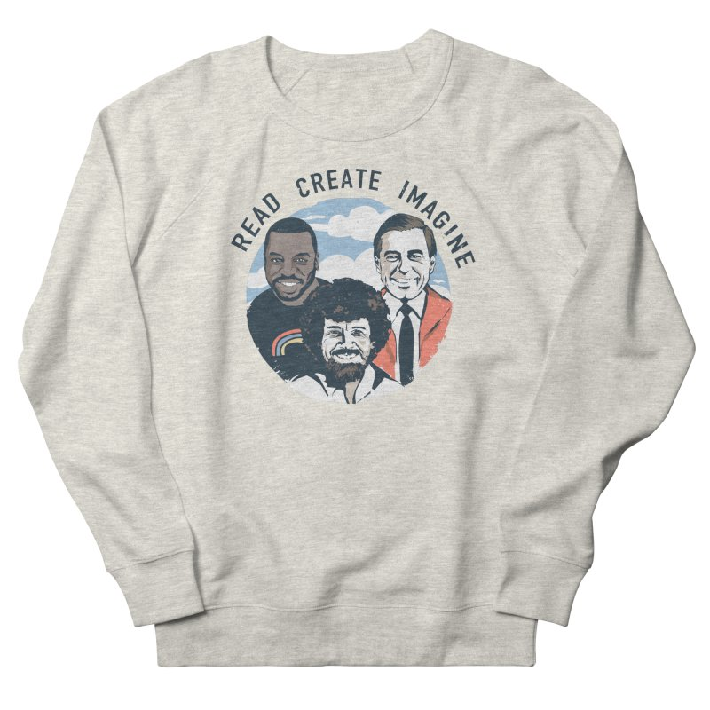 Learning Friends Men's French Terry Sweatshirt by Daniel Stevens's Artist Shop