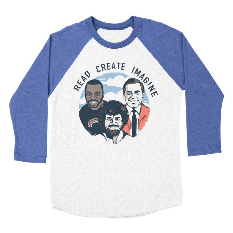 Learning Friends Men's Baseball Triblend Longsleeve T-Shirt by Daniel Stevens's Artist Shop
