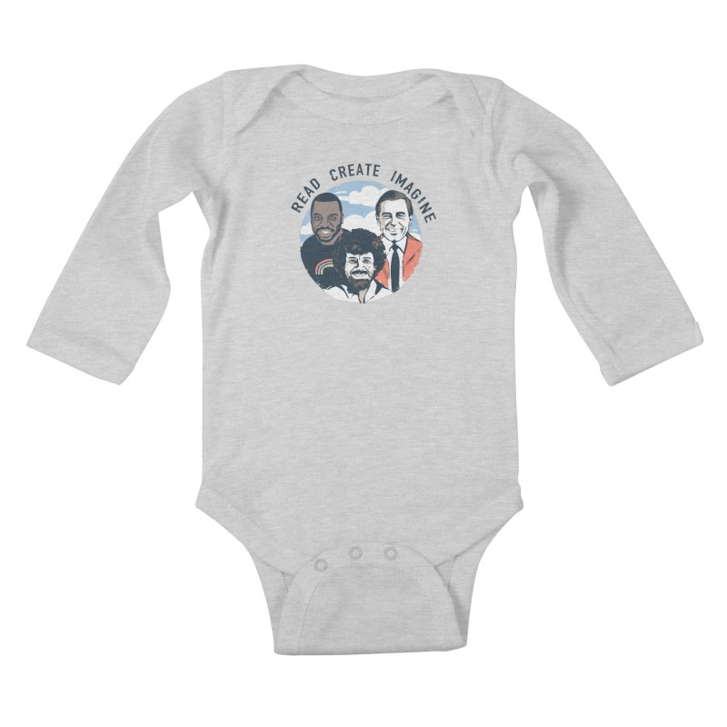 Learning Friends Kids Baby Longsleeve Bodysuit by Daniel Stevens's Artist Shop