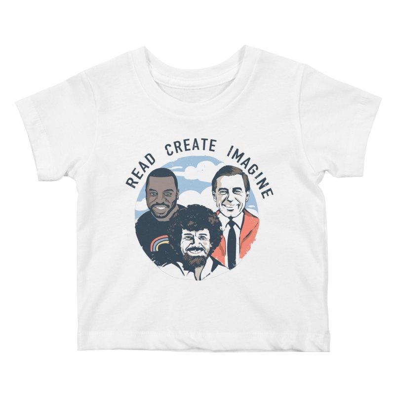 Learning Friends Kids Baby T-Shirt by Daniel Stevens's Artist Shop