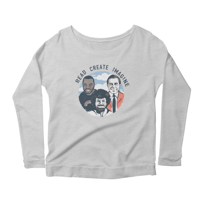 Learning Friends Women's Longsleeve T-Shirt by Daniel Stevens's Artist Shop