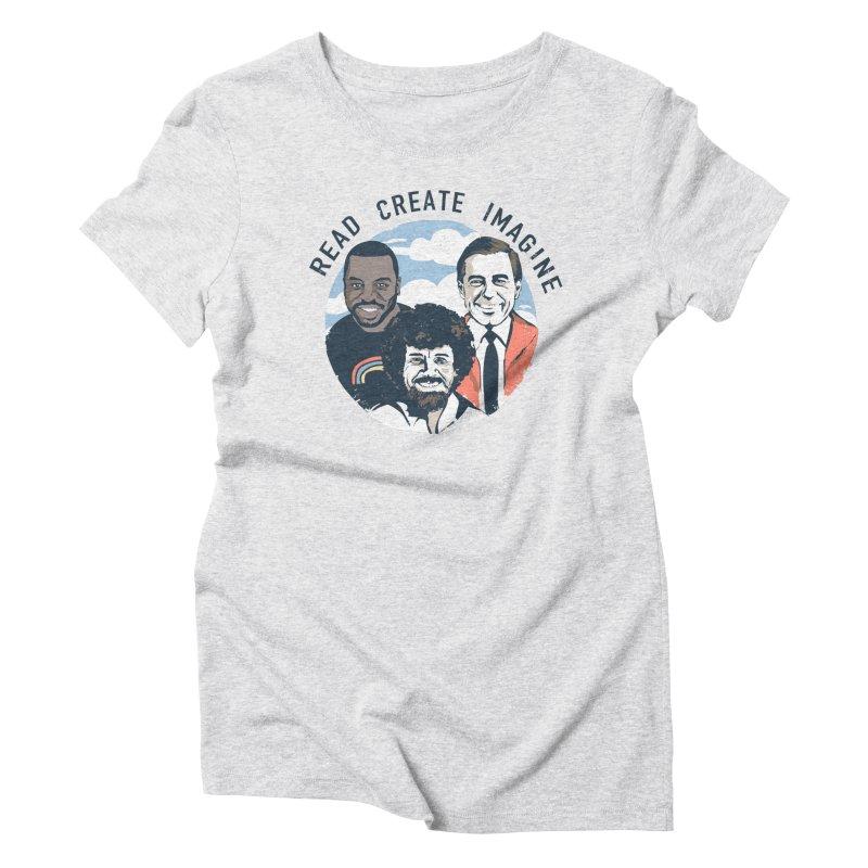 Learning Friends Women's T-Shirt by Daniel Stevens's Artist Shop