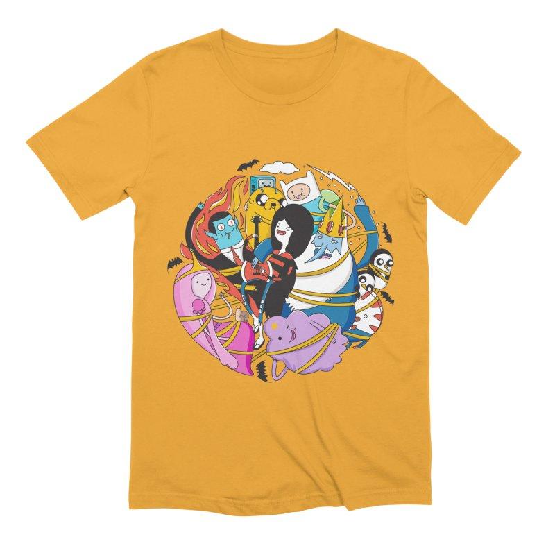 Adventure Friends Men's Extra Soft T-Shirt by Daniel Stevens's Artist Shop