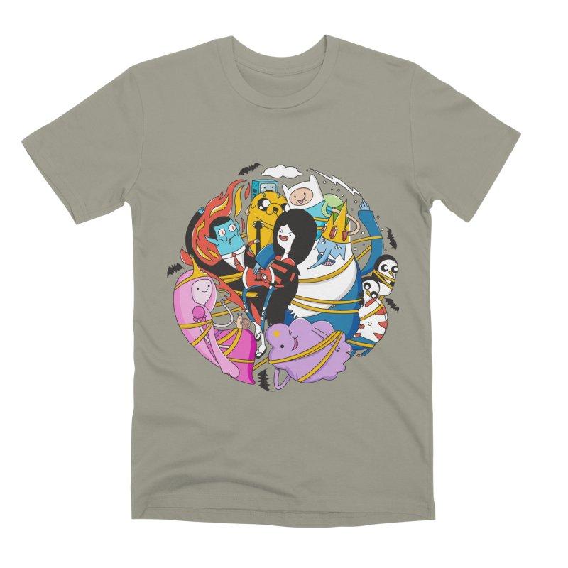 Adventure Friends Men's T-Shirt by Daniel Stevens's Artist Shop