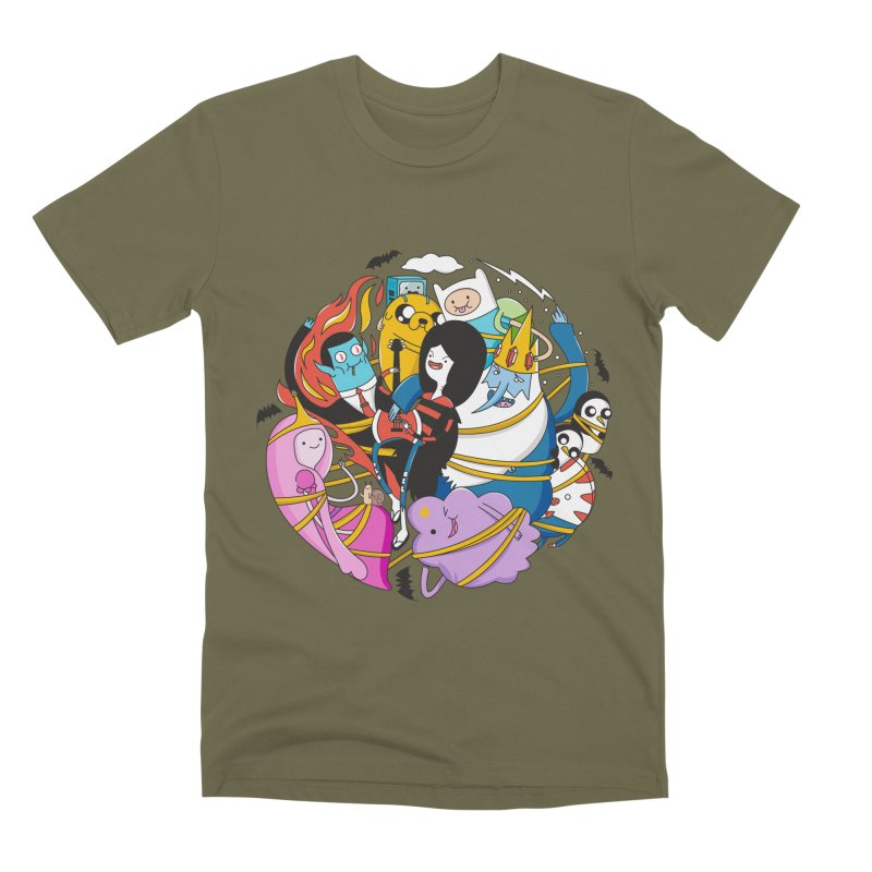 Adventure Friends Men's Premium T-Shirt by Daniel Stevens's Artist Shop