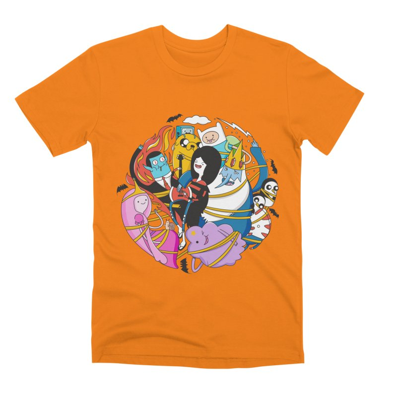 Adventure Friends Men's T-Shirt by Daniel Stevens's Artist Shop