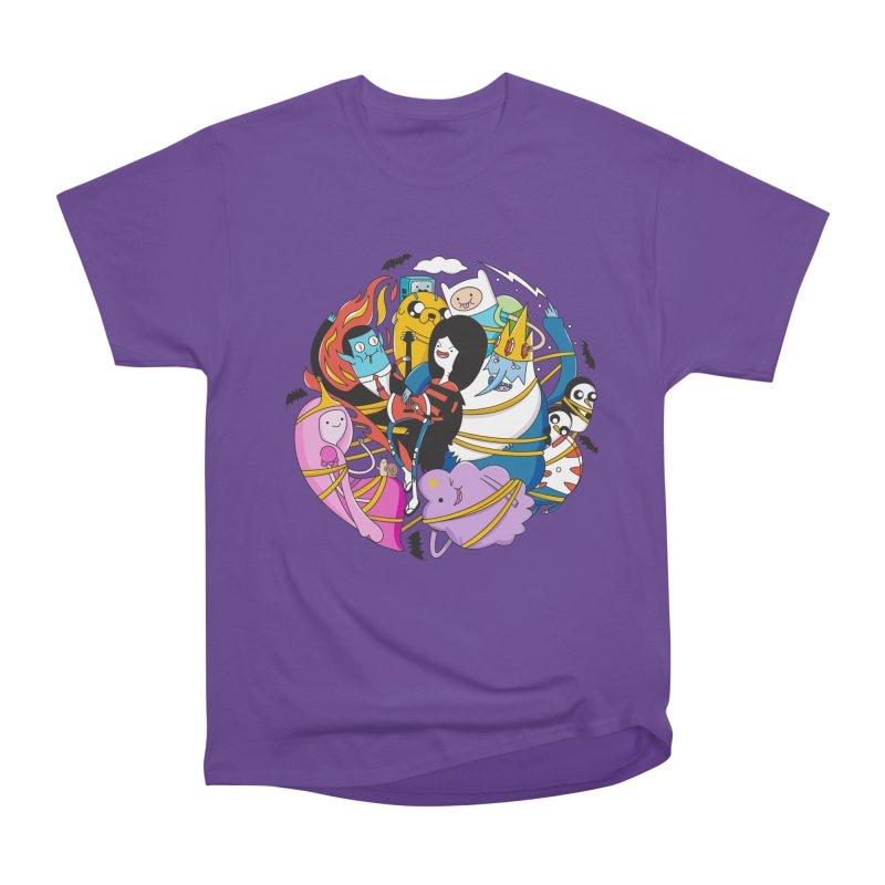 Adventure Friends Men's Heavyweight T-Shirt by Daniel Stevens's Artist Shop