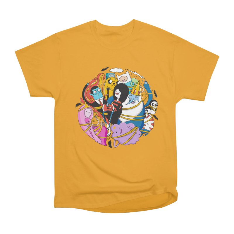 Adventure Friends Women's Heavyweight Unisex T-Shirt by Daniel Stevens's Artist Shop