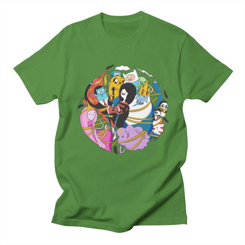 Adventure Friends Women's Regular Unisex T-Shirt by Daniel Stevens's Artist Shop