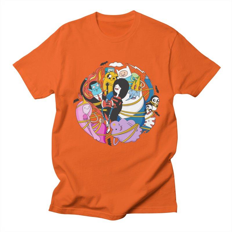 Adventure Friends Men's Regular T-Shirt by Daniel Stevens's Artist Shop