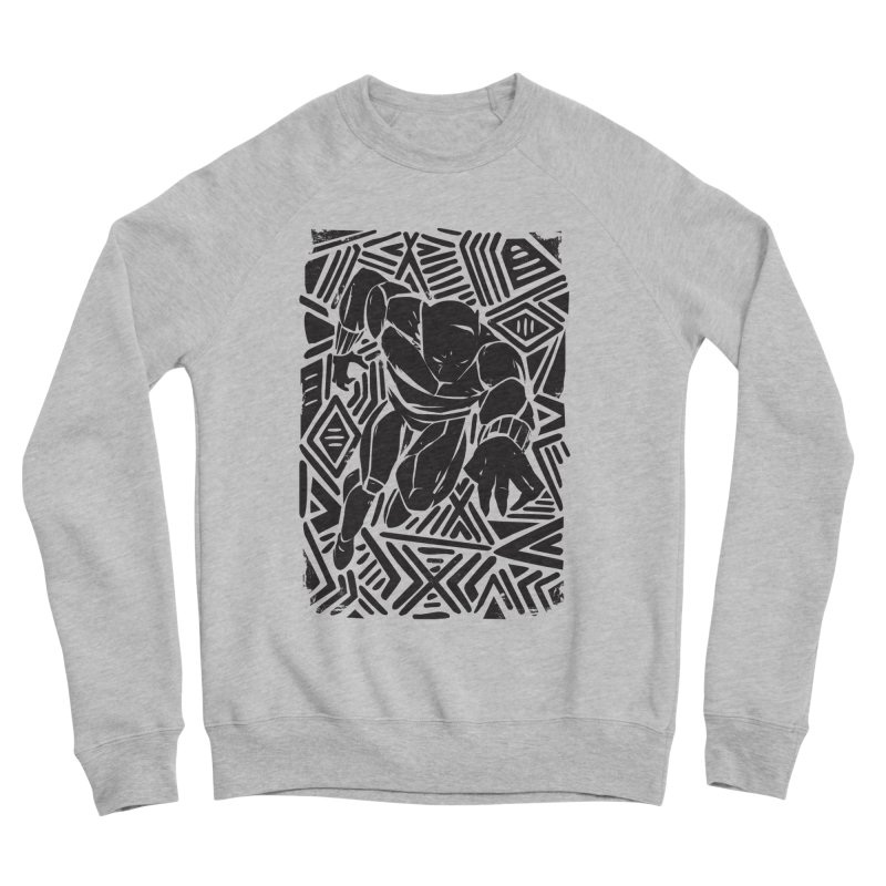 Tribal Panther Women's Sponge Fleece Sweatshirt by Daniel Stevens's Artist Shop
