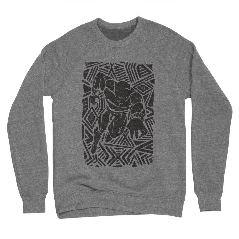 Tribal Panther Men's Sponge Fleece Sweatshirt by Daniel Stevens's Artist Shop