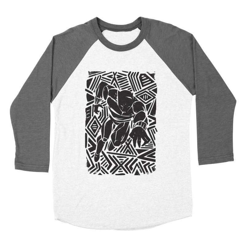 Tribal Panther Women's Longsleeve T-Shirt by Daniel Stevens's Artist Shop