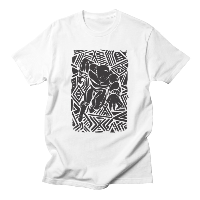 Tribal Panther Women's Regular Unisex T-Shirt by Daniel Stevens's Artist Shop
