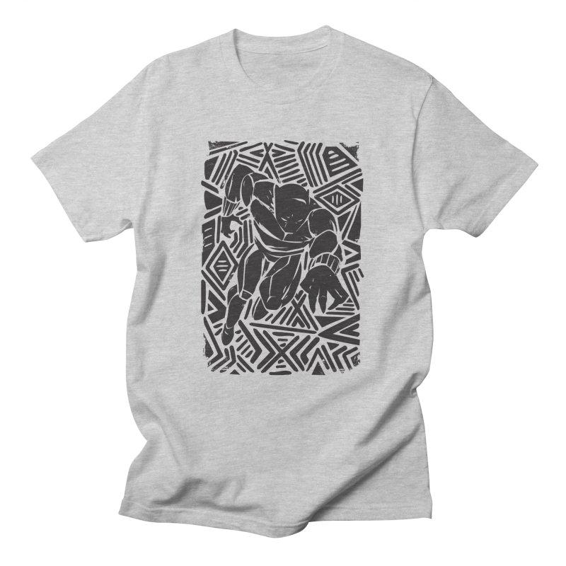 Tribal Panther Women's Regular Unisex T-Shirt by Daniel Stevens's Artist Shop