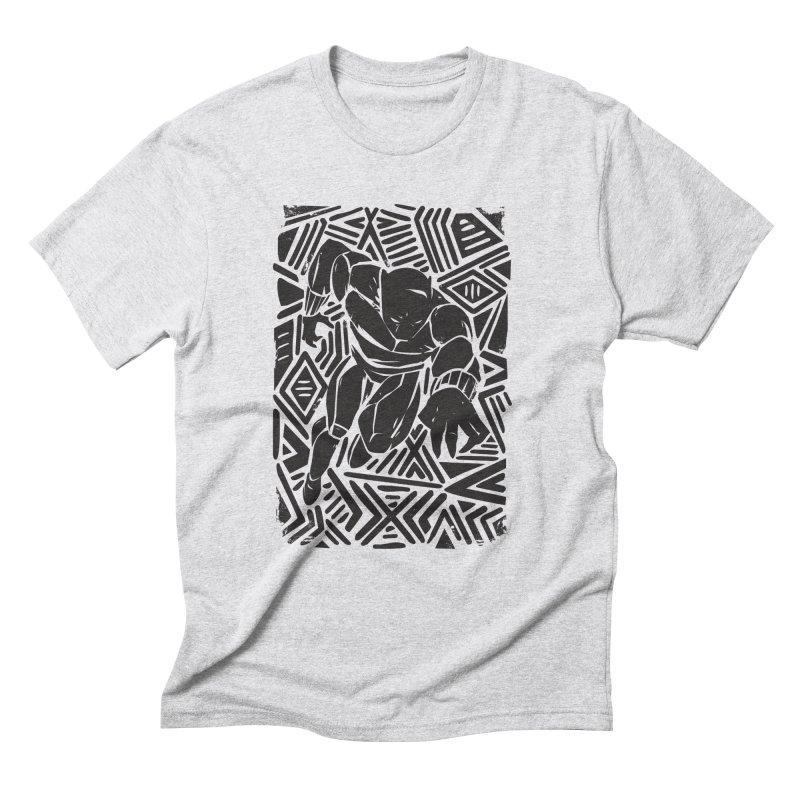 Tribal Panther Men's Triblend T-Shirt by Daniel Stevens's Artist Shop