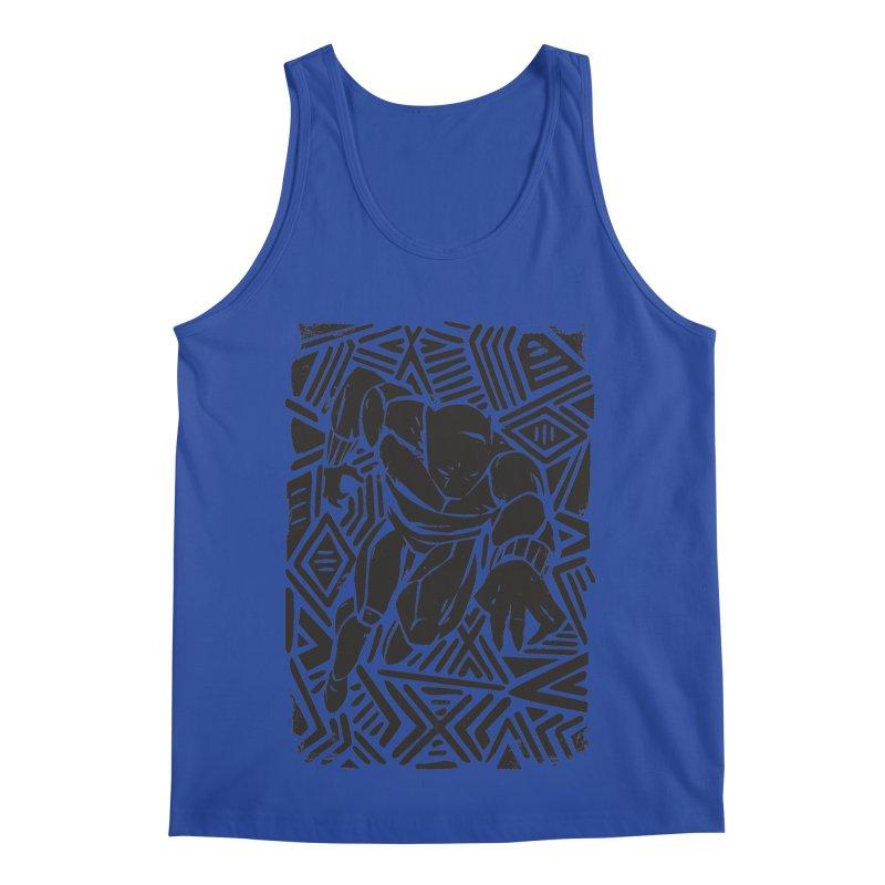 Tribal Panther Men's Regular Tank by Daniel Stevens's Artist Shop