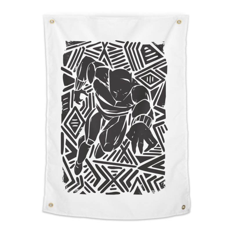 Tribal Panther Home Tapestry by Daniel Stevens's Artist Shop