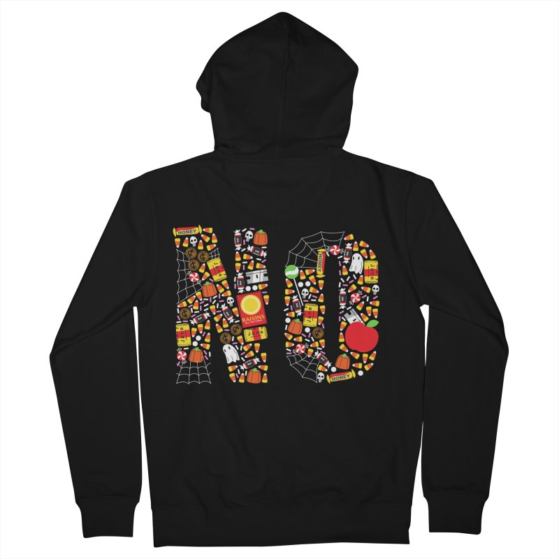 Unwanted Treats Women's Zip-Up Hoody by Daniel Stevens's Artist Shop