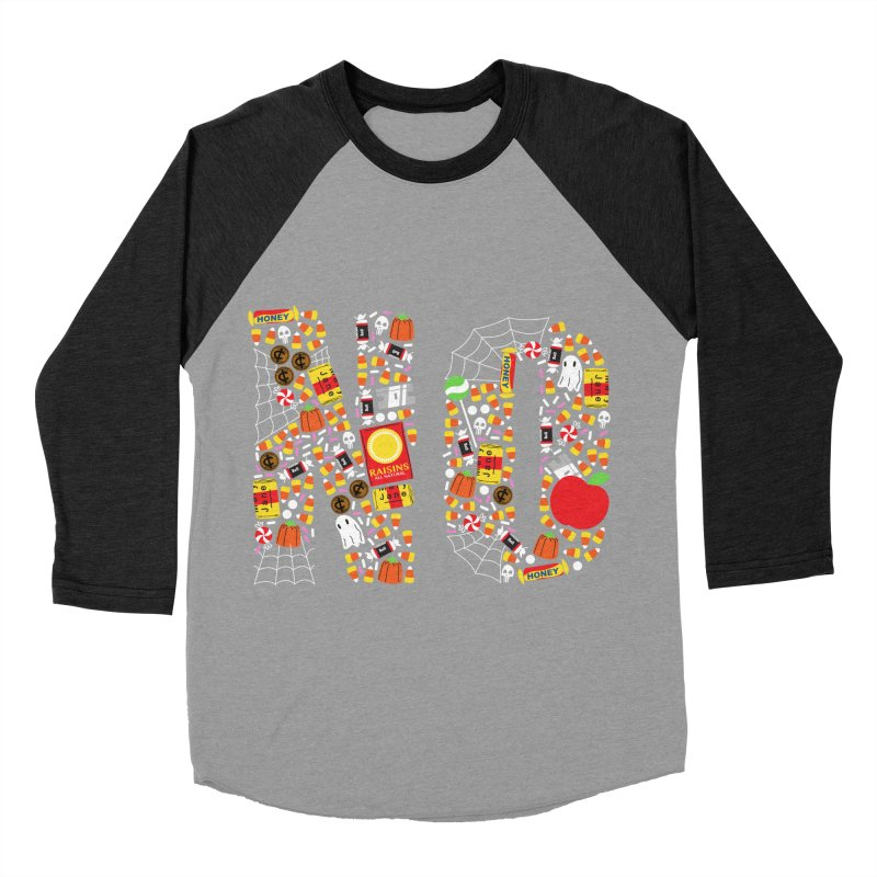 Unwanted Treats Women's Baseball Triblend Longsleeve T-Shirt by Daniel Stevens's Artist Shop