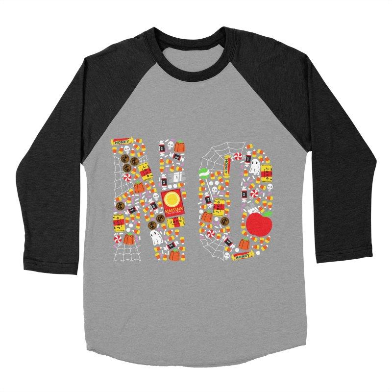 Unwanted Treats Men's Baseball Triblend Longsleeve T-Shirt by Daniel Stevens's Artist Shop