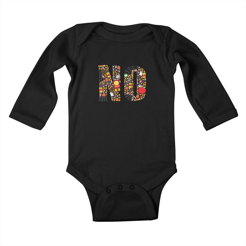 Unwanted Treats Kids Baby Longsleeve Bodysuit by Daniel Stevens's Artist Shop