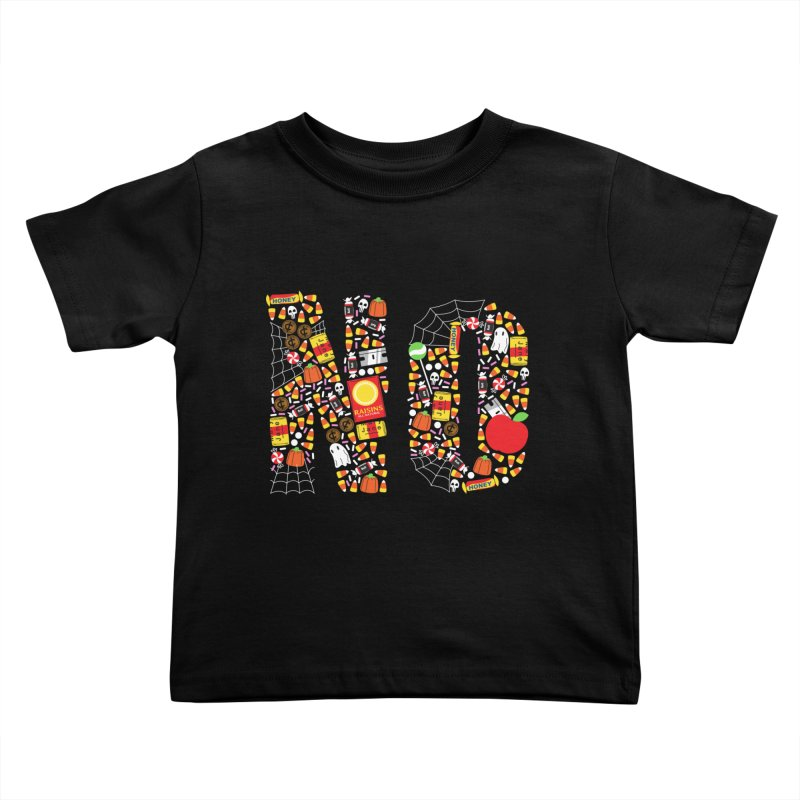 Unwanted Treats Kids Toddler T-Shirt by Daniel Stevens's Artist Shop