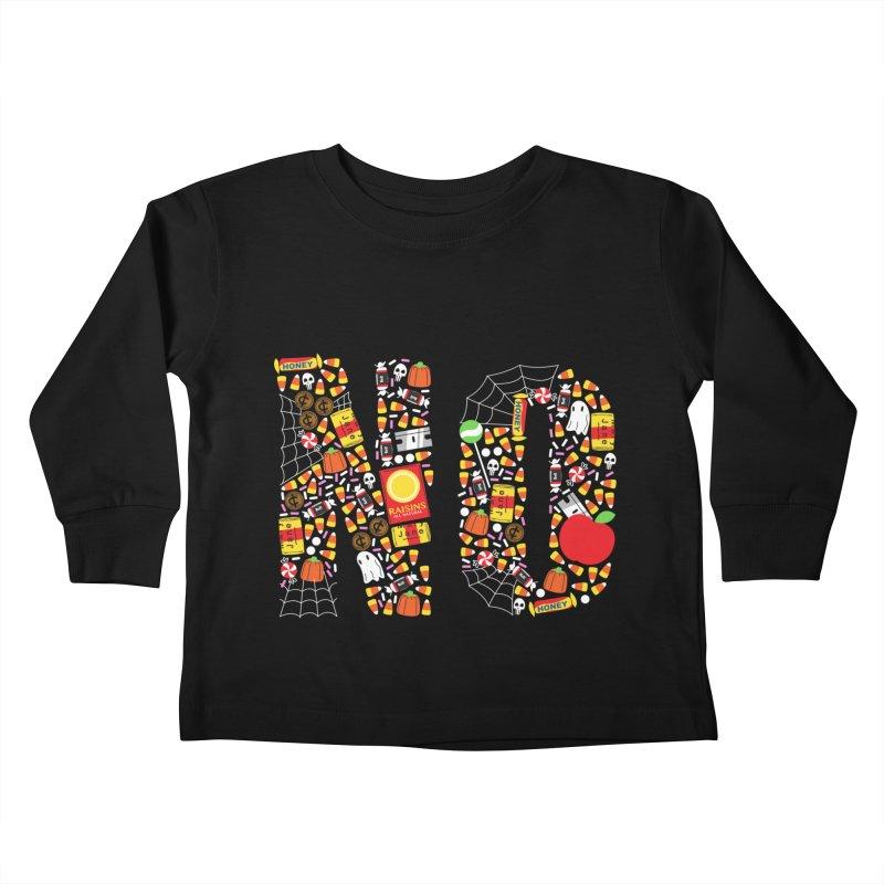Unwanted Treats Kids Toddler Longsleeve T-Shirt by Daniel Stevens's Artist Shop
