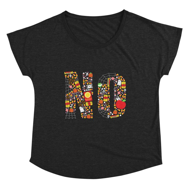 Unwanted Treats Women's Scoop Neck by Daniel Stevens's Artist Shop