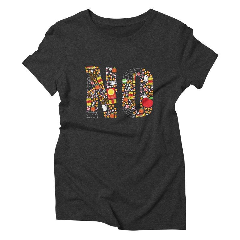 Unwanted Treats Women's Triblend T-Shirt by Daniel Stevens's Artist Shop